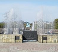 Peace Park, fountain